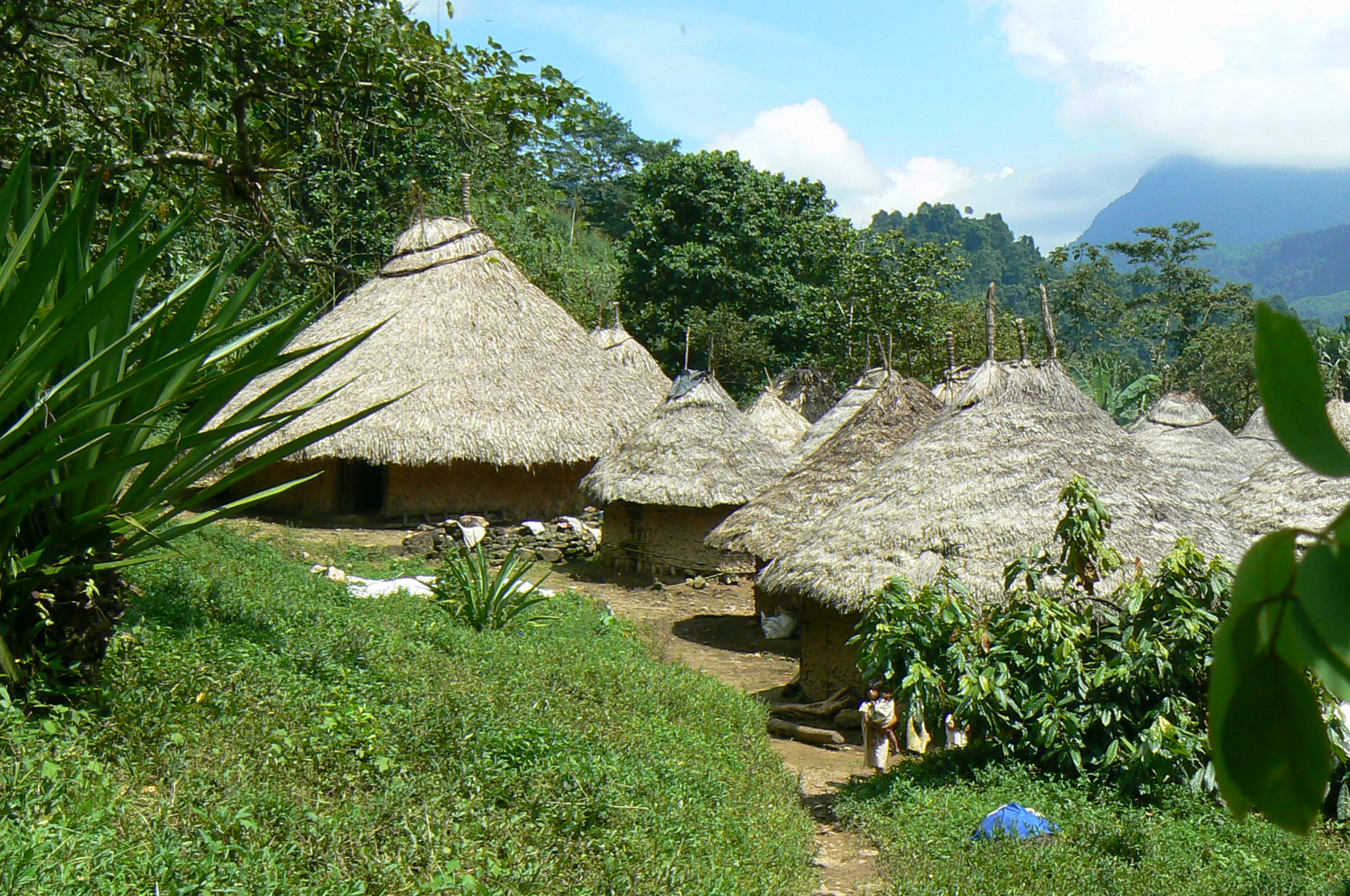 Indianendorp in Colombia