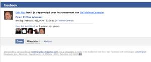 voorbeeld uitnodiging facebook in email
